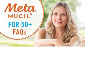 Metamucil for 50 Plus FAQ