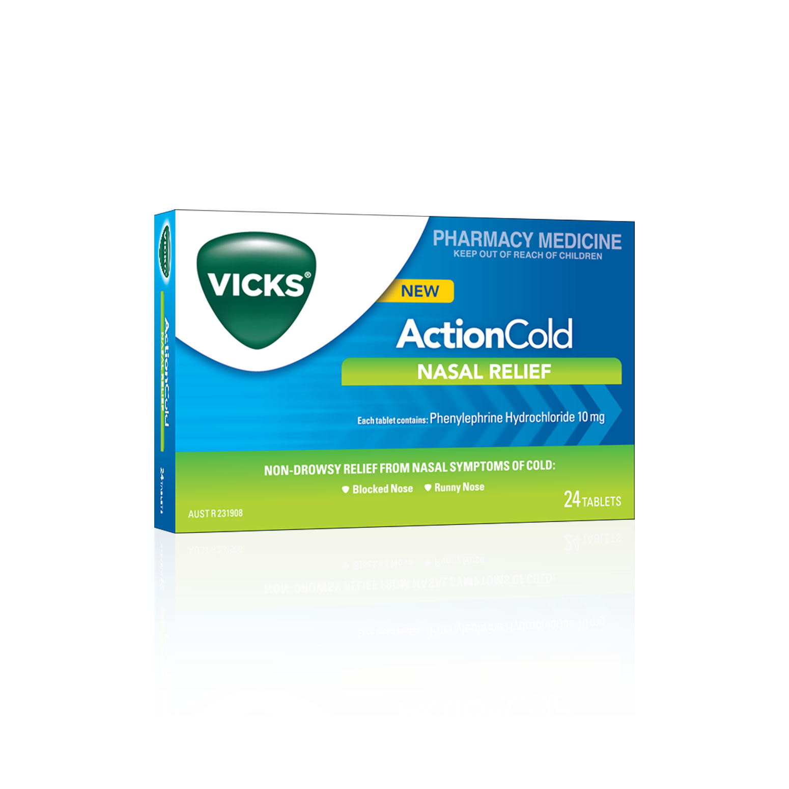 Vicks Action Nasal Relief