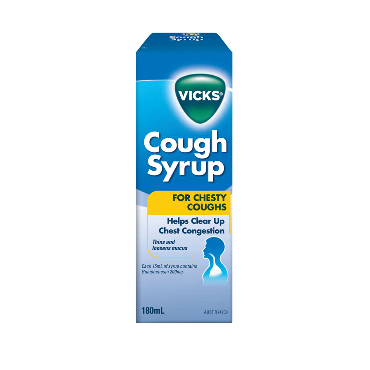 Vicks chesty cough honey