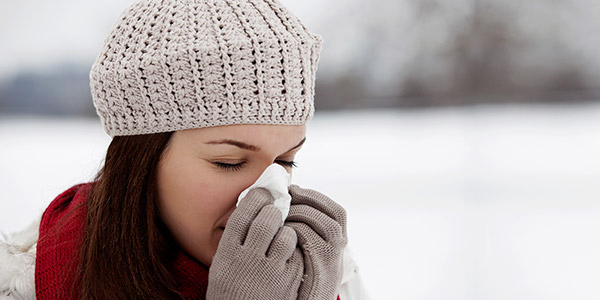How cold and flu viruses spread?