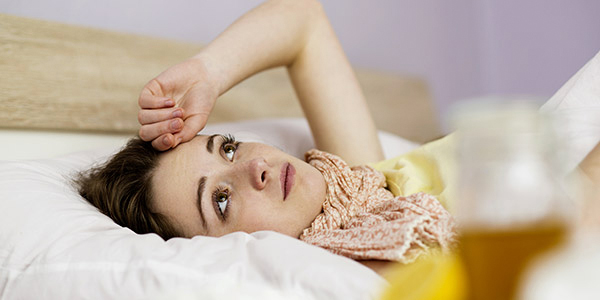 How to sleep with a cold?