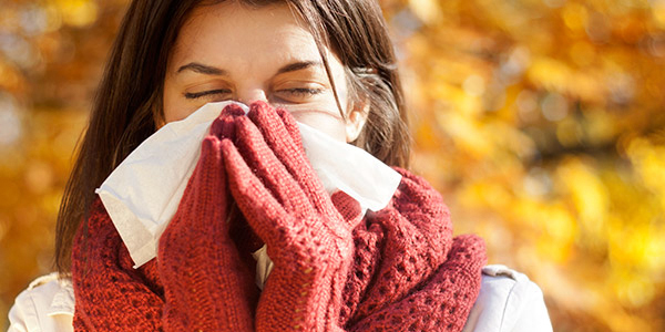 The differences between cold, flu, and allergy symptoms