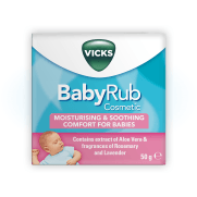 BabyRub: moisturising and soothing comfort for Babies